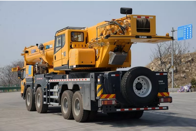 XCMG's new 80-ton crane is finally coming!