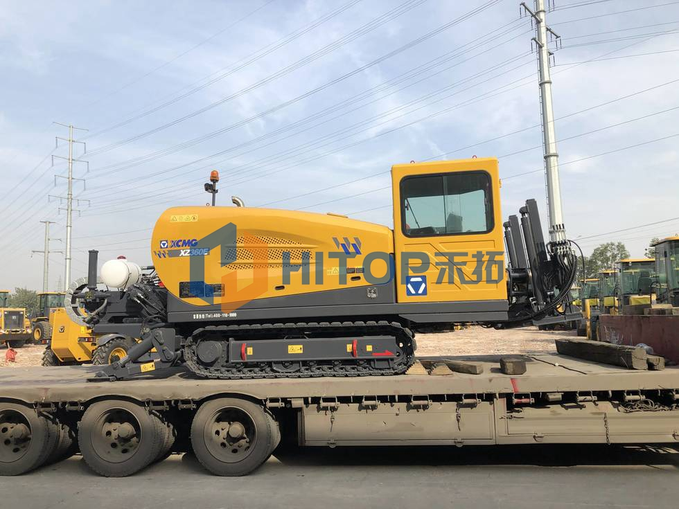 XCMG Horizontal Directional Drill XZ360E exported on 24th of Nov