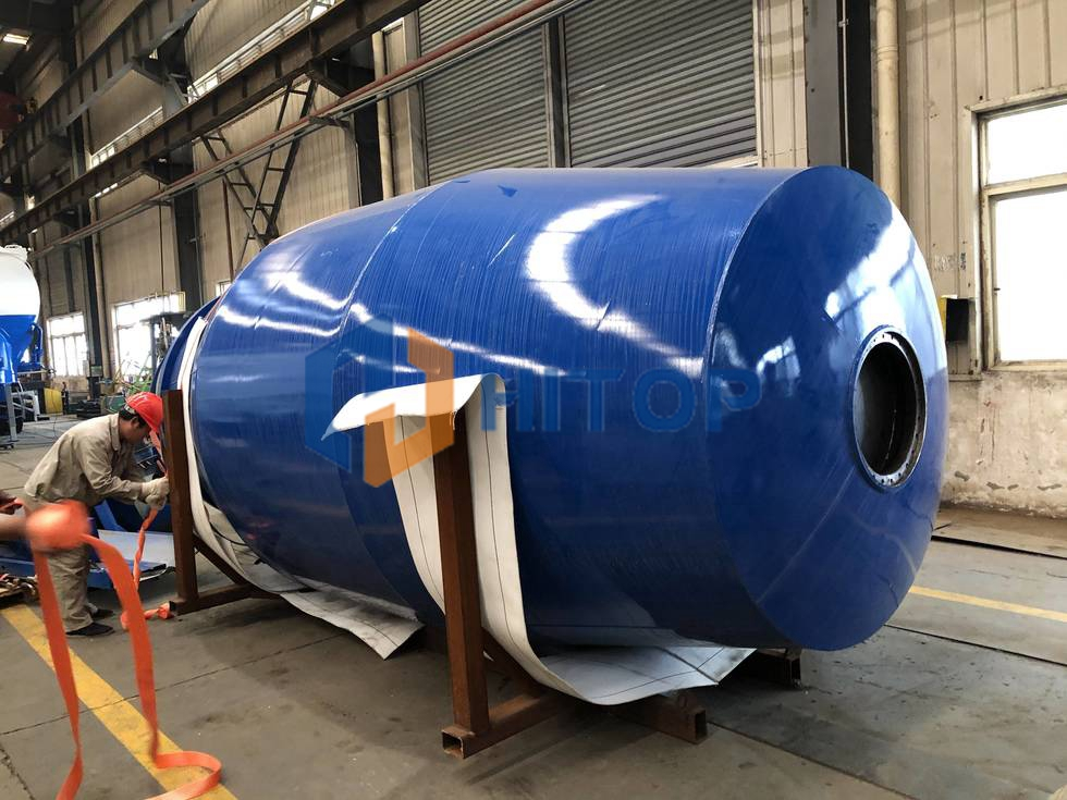 10m3 Concrete Mixer Drum exported to Argentina on 3rd of Nov